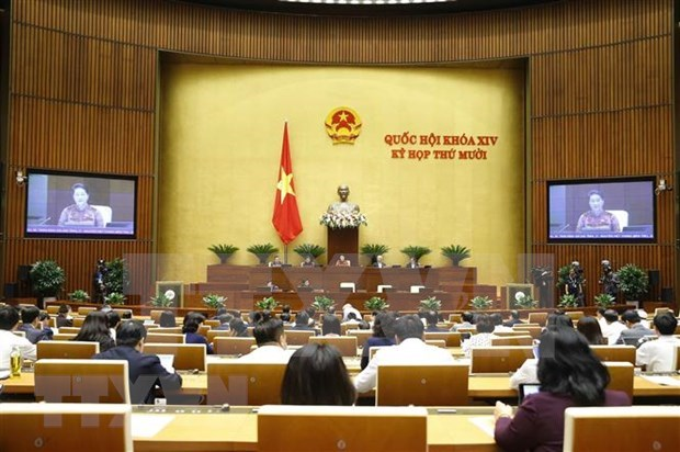 Lawmakers to continue Q&A session, debate draft documents on November 10 hinh anh 1