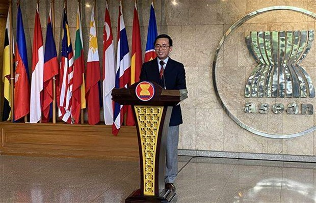 Documents of 37th ASEAN Summit to facilitate cooperation, economic recovery hinh anh 1
