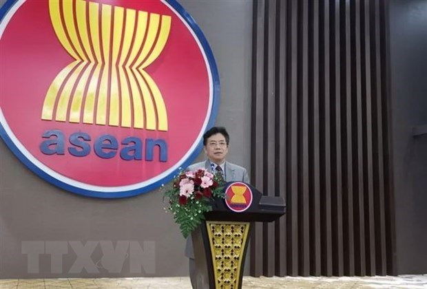 Chinese Ambassador affirms cooperation with ASEAN in pandemic control, economic recovery hinh anh 1