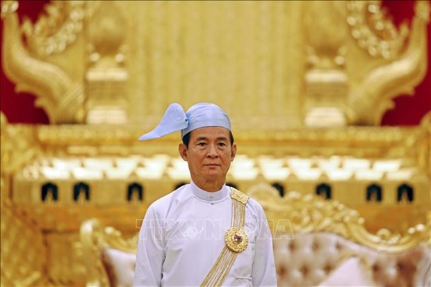 Myanmar President wins parliament seat in general elections hinh anh 1
