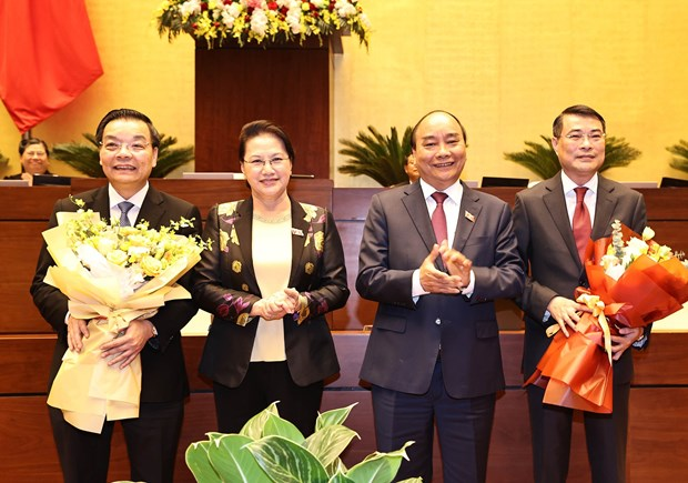 NA officially relieves science minister, central bank governor from positions hinh anh 1