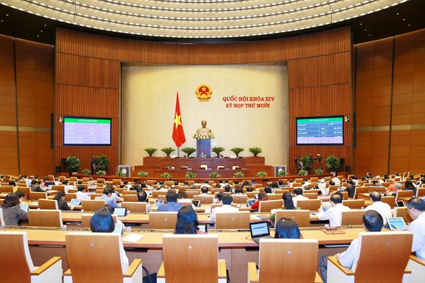 NA approves new Government officials, resolution on 2021 budget estimate hinh anh 1