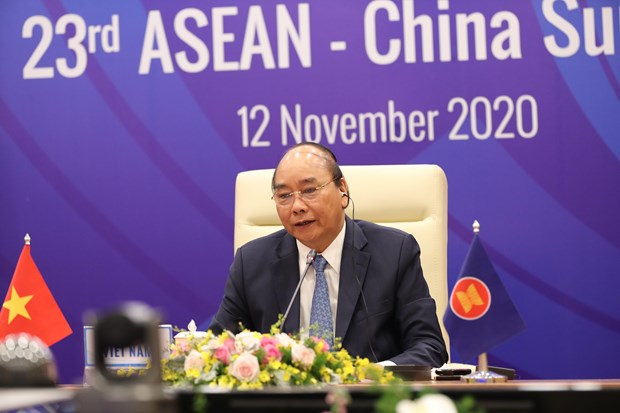 ASEAN-China ties among most substantive partner relations of ASEAN: PM Phuc hinh anh 1