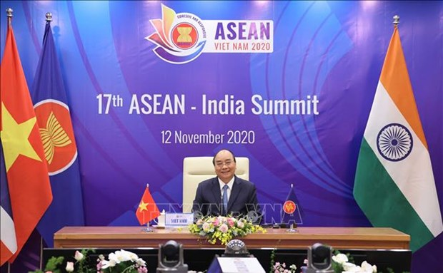 ASEAN, India reaffirm orientations to ties in 21st century hinh anh 1