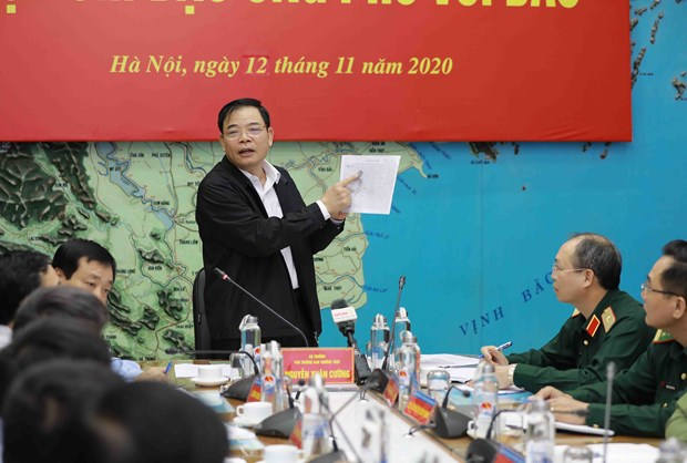 Minister calls for drastic response to Storm Vamco hinh anh 1