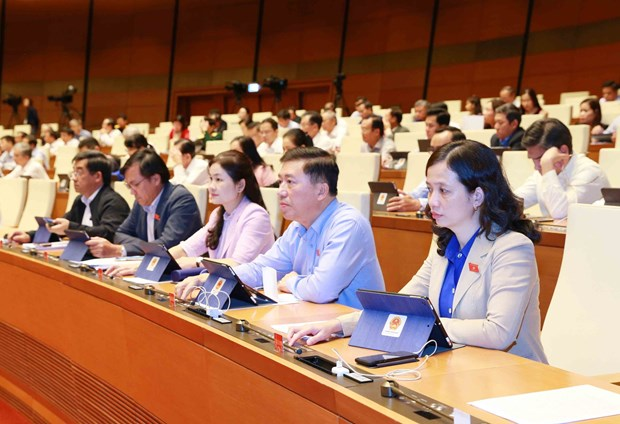 NA adopts resolution on State budget estimate in 2021 hinh anh 1