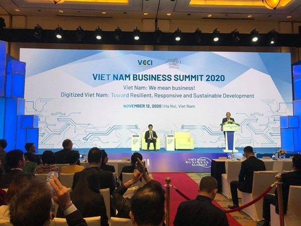 Vietnam Business Summit 2020 opens hinh anh 1