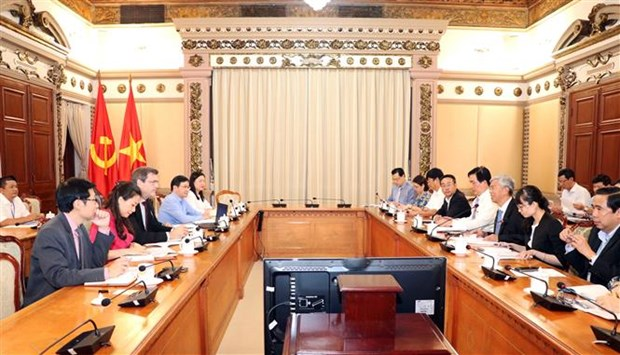 HCM City looks to boost cooperation with ADB hinh anh 1
