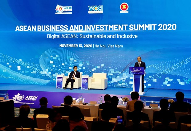 Digital ASEAN in spotlight at business & investment summit hinh anh 1