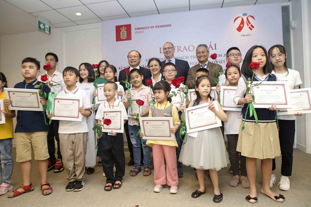 Award ceremony for competition on Denmark hinh anh 1