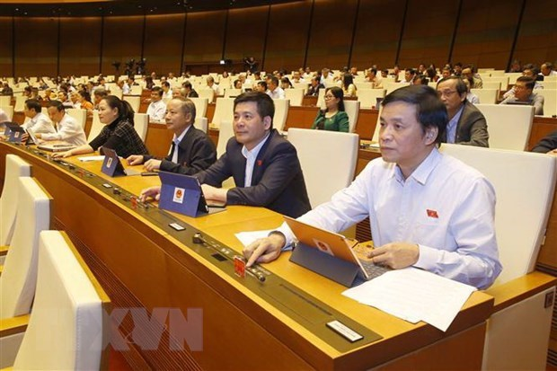 NA approves four bills, two resolutions on November 13 hinh anh 1