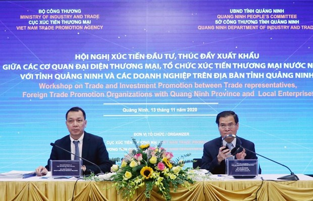 Workshop promotes investment, foreign trade in Quang Ninh hinh anh 1
