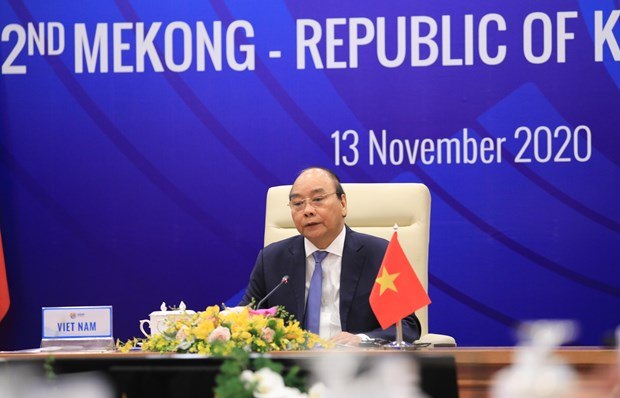 Mekong countries, RoK agree to lift relations to strategic partnership hinh anh 1