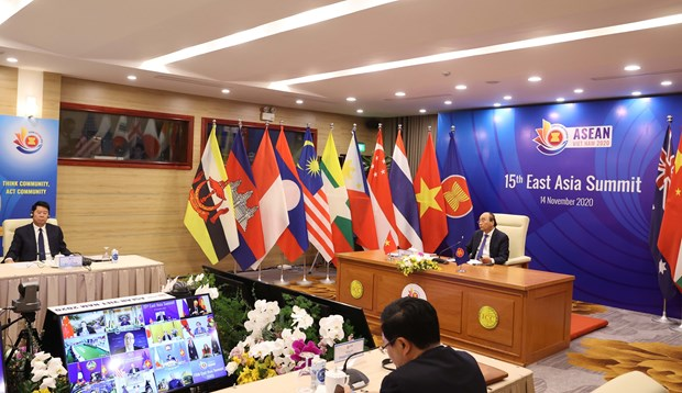 15th East Asia Summit: Vietnam highlights importance of maintaining environment of peace and stability hinh anh 1