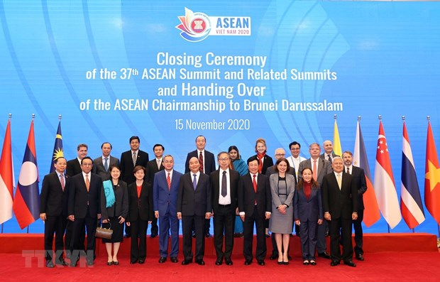 37th ASEAN Summit and Related Summits wrap up successfully hinh anh 1