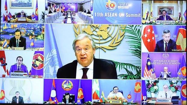 ASEAN-UN comprehensive partnership grows stronger than ever: UN Chief hinh anh 1