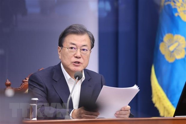 ASEAN 2020: RoK President proposes solidarity, cooperation against COVID-19 hinh anh 1