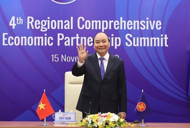 4th Regional Comprehensive Economic Partnership Summit opens hinh anh 1