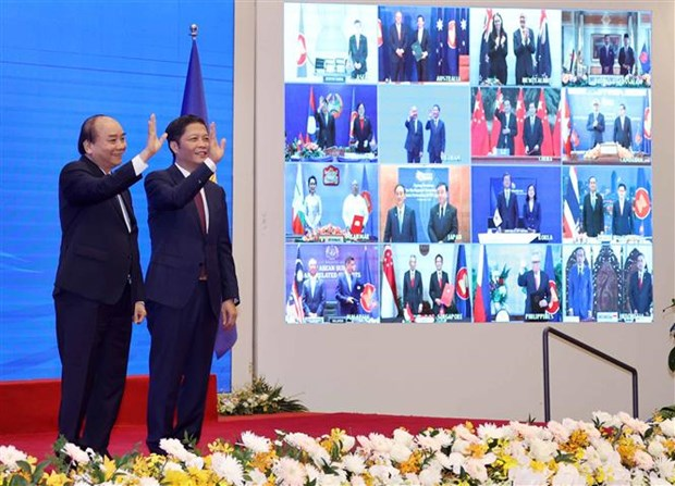 Signatories highlight RCEP's significance to economies hinh anh 1
