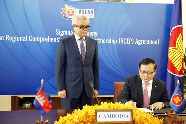 Signing of RCEP agreement a historic achievement of region: AKP hinh anh 1