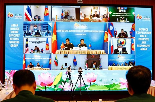 ASEAN member countries promote practical defence cooperation hinh anh 1