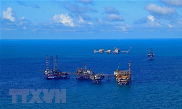 PV Gas marks first gas flow from offshore field to Nam Con Son 2 pipeline hinh anh 1