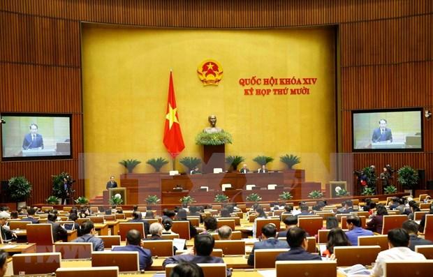 Legislature adopt resolution on urban administration in HCM City hinh anh 1