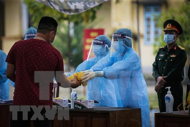 Vietnam enters 75th day free of COVID-19 community infections hinh anh 1