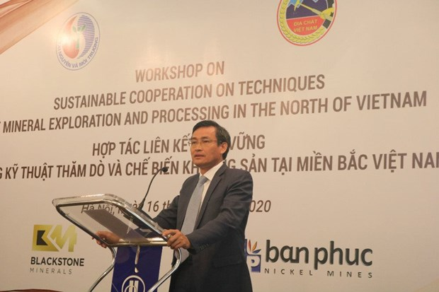 Workshop looks into Vietnam-Australia mineral exploration, processing cooperation hinh anh 1