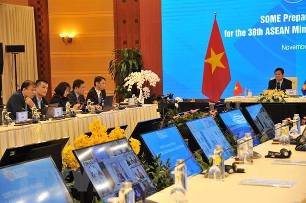 38th ASEAN Ministers on Energy Meeting's preparatory meeting underway hinh anh 1
