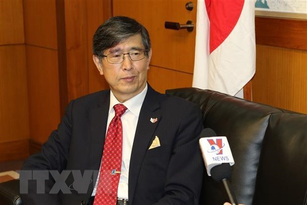 Japanese ambassador to ASEAN speaks of Vietnam's excellent role hinh anh 1
