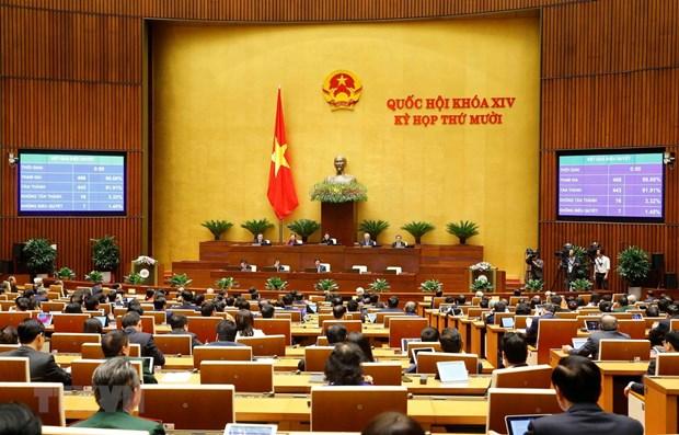 NA adopts revised environmental protection law hinh anh 1