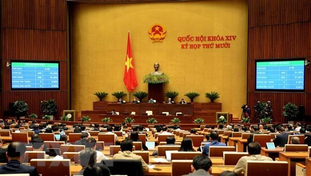National Assembly enters last working day of 10th sitting hinh anh 1