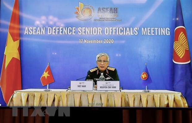 Vietnam chairs ASEAN Defence Senior Officials' Meeting hinh anh 1