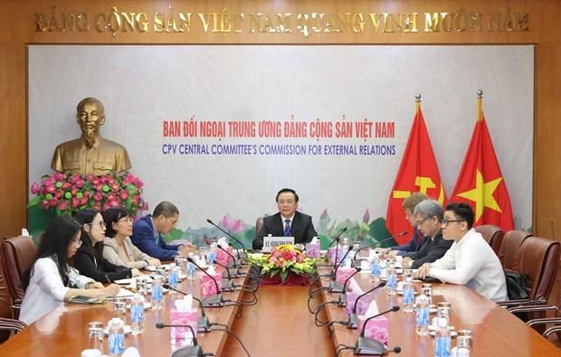 Vietnamese, German parties bolster ties hinh anh 1