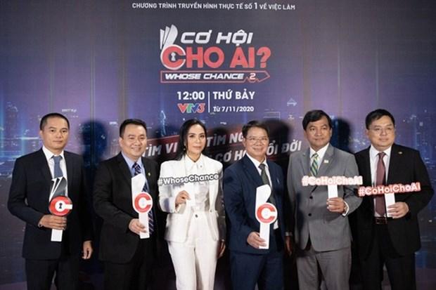 Job game show begins on VTV hinh anh 1
