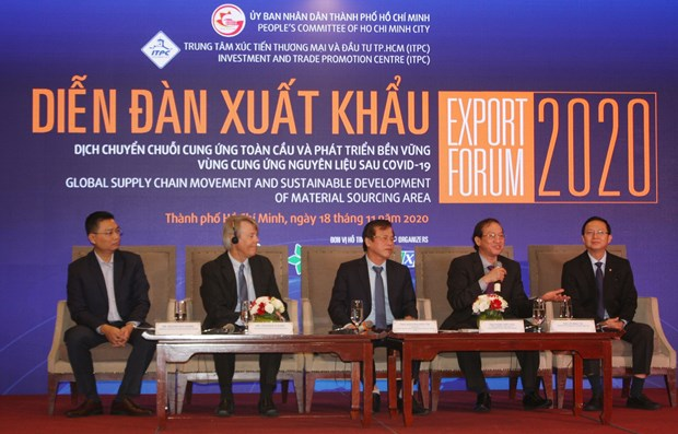 Forum suggests ways to bolster exports, economic recovery hinh anh 1