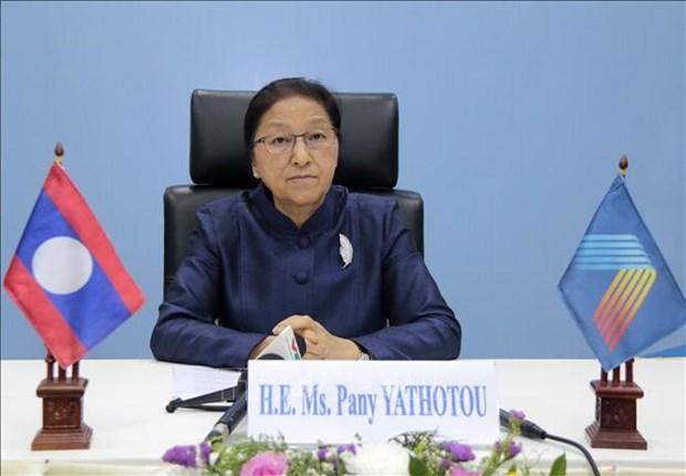 Lao legislature's 10th session concludes hinh anh 1