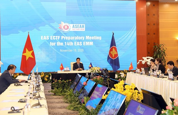Senior officials meet to prepare for 14th EAS Energy Ministers Meeting hinh anh 1