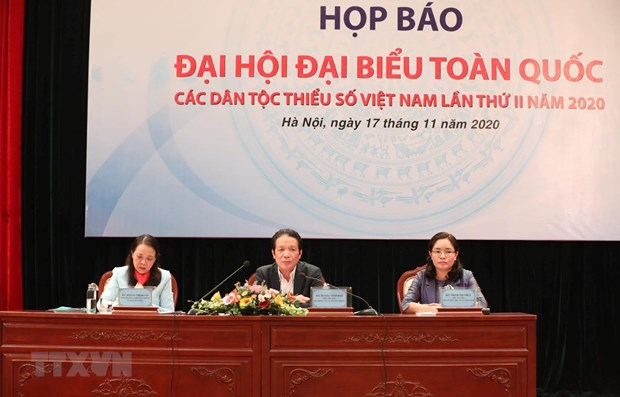 Second congress of ethnic minorities to be held next month hinh anh 1