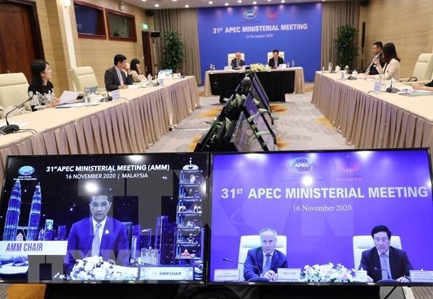 APEC economies urged to unite, build revitalised Asia-Pacific community hinh anh 1
