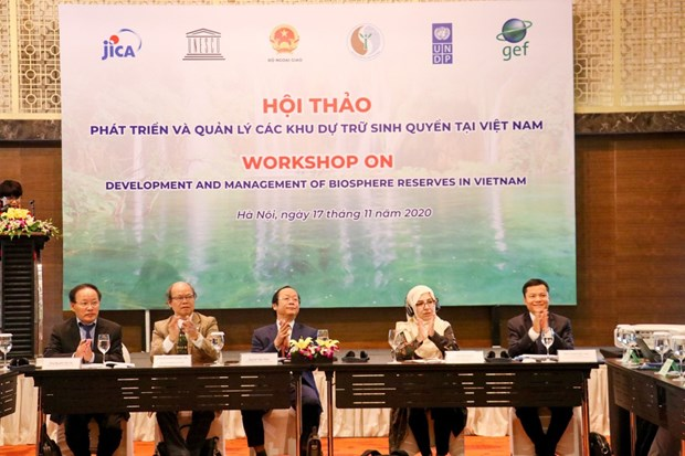 Development of Vietnam's biosphere reserves over 20 years hinh anh 1