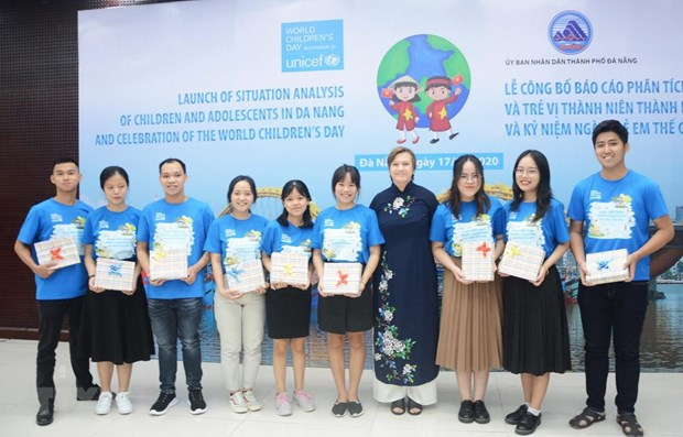 Da Nang: situation analysis of children, adolescents launched hinh anh 1