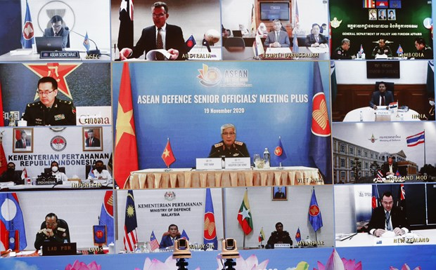 Senior defence officials in ASEAN, partners discuss preparations for ADMM+ hinh anh 1