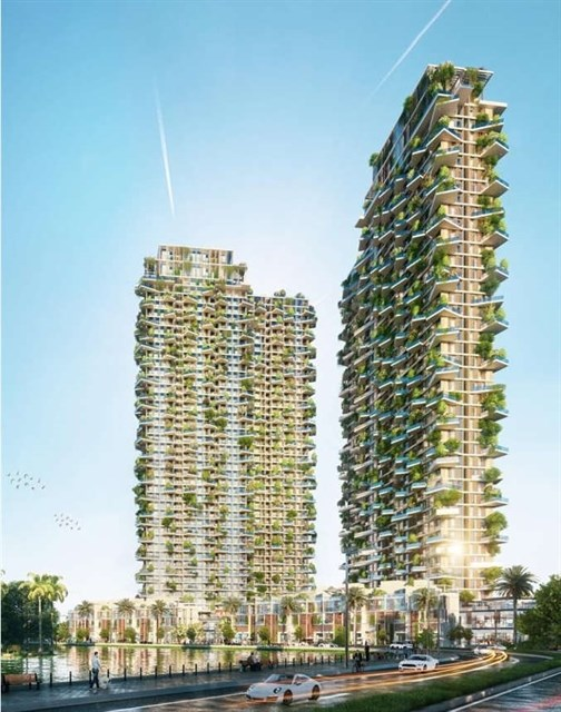 Foreign media laud Southeast Asia's tallest vertical forest in Vietnam hinh anh 1