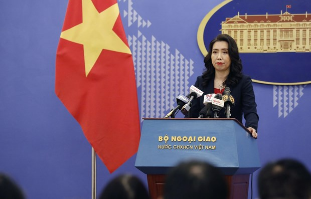 Spokeswoman: Vietnam attaches importance to ties with Cambodia hinh anh 1
