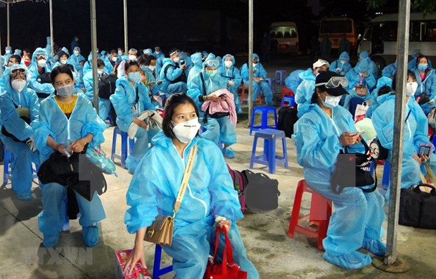 Nearly 280 Vietnamese citizens repatriated from Europe hinh anh 1
