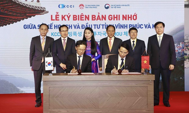 Vinh Phuc sees RoK investors as key: Official hinh anh 1