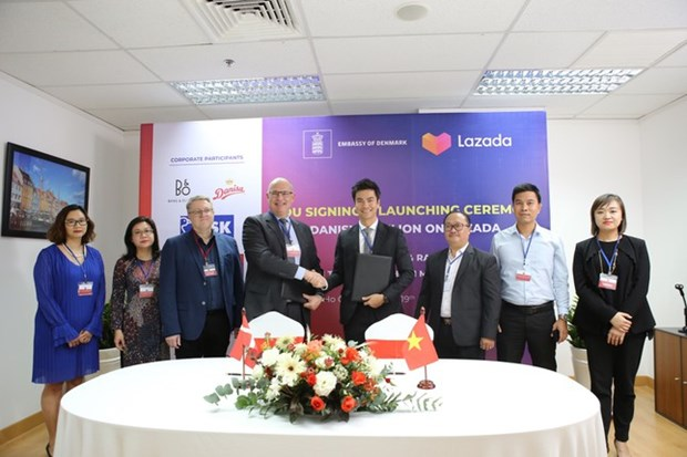 Danish firms offered chances to access Vietnamese market hinh anh 1