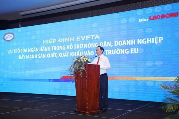 Banks play crucial role in fostering exports to EU: Workshop hinh anh 1
